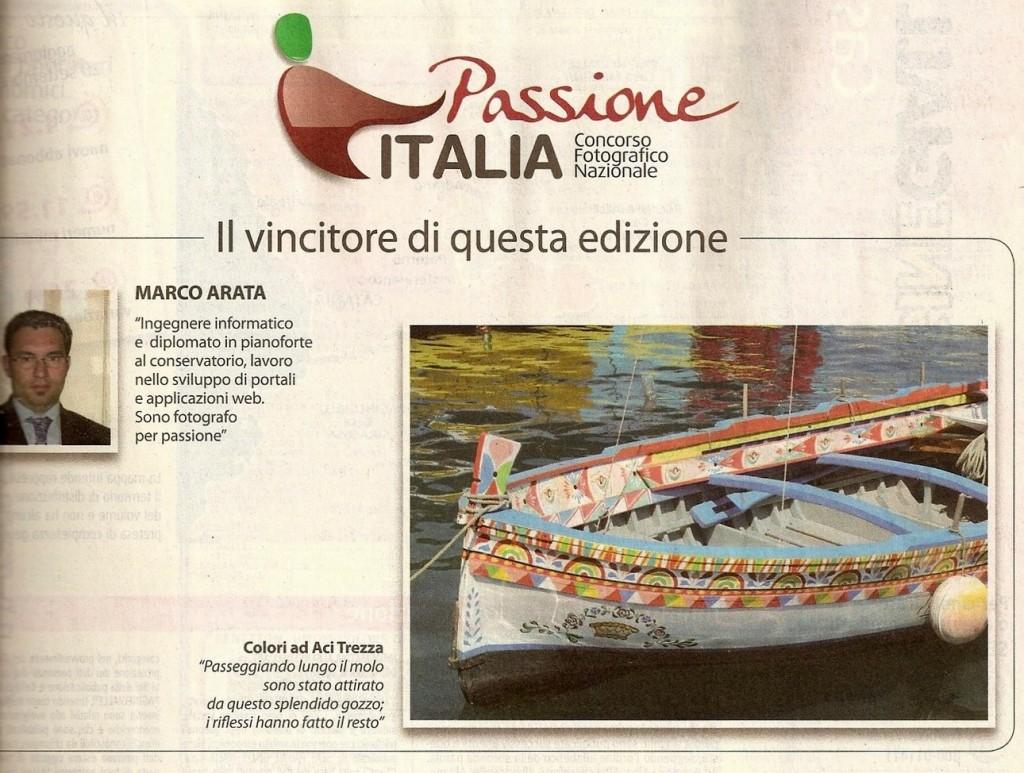 Pagina dedicata al concorso su PagineGialle 2012/2013 della Provincia di Catania