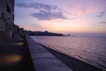 La passeggiata a mare di Trapani