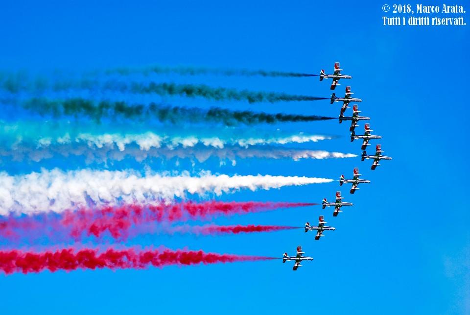 La Pattuglia Acrobatica Nazionale Italiana, comunemente conosciuta come